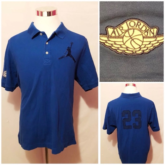 e9c7ba6ef759 Nike Air Jordan Mens Polo Shirt Jumpman SZ 2XL